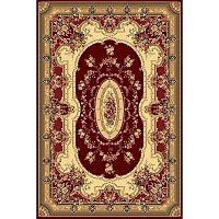 Habitat koberec Super Antique curve červená, 160 x 230 cm
