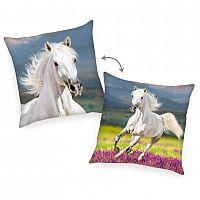 Herding Polštářek Kůň bílá, 40 x 40 cm