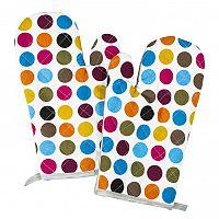 Jahu Chňapka puntík barevná, 28 x 18 cm, sada 2 ks