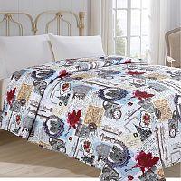 Jahu Přehoz  na postel Hodiny, 140 x 220 cm