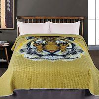 JAHU Přehoz na postel Tygr, 140 x 220 cm