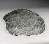 Jahu Prostírání Deco ovál, sada 4 kusů, 30x45 cm