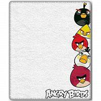 Jerry Fabrics Dětská deka Angry Birds 040, 120 x 150 cm