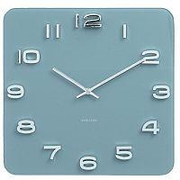 Karlsson 5641BL Designové nástěnné hodiny, 35 cm