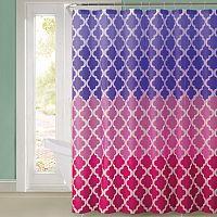 Koopman Sprchový závěs Magic růžová, 180 x 180 cm