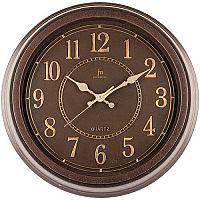 Lowell 00825C Designové nástěnné hodiny pr. 40 cm