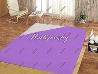 Matějovský prostěradlo froté světle fialová, 160 x 200 cm
