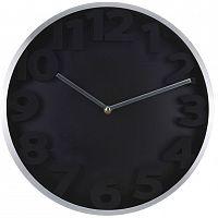Nástěnné hodiny Number, černá