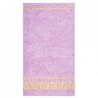 Night in Colours Ručník Bamboo Gold světle fialová, 50 x 90 cm