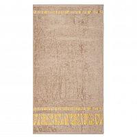 Night in Colours Ručník Bamboo Gold světle hnědá, 50 x 90 cm