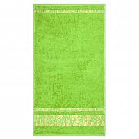 Night in Colours Ručník Bamboo Gold světle zelená, 50 x 90 cm