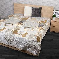 Přehoz na postel Lace béžová, 240 x 200 cm