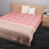 Přehoz na postel Morbido lososová, 160 x 220 cm