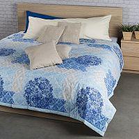 Přehoz na postel Ottorino modrá, 240 x 200 cm