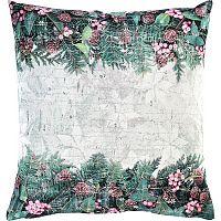 Sander Dekorační polštářek X-Mas Bouquet růžová 50 x 50 cm