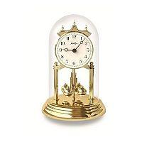 Stolní hodiny AMS 1201, zlatá