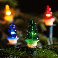Světelný řetěz Stromek barevná, 12 žárovek