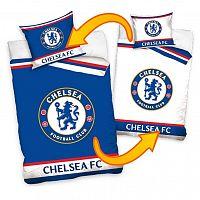 TipTrade Bavlněné povlečení FC Chelsea Double, 140 x 200 cm, 70 x 90 cm
