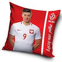 TipTrade Polštářek PZPN Lewandowski red, 40 x 40 cm