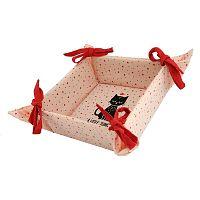 Trade Concept Textilní košík Kočka, 34 x 34 cm