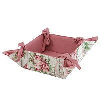 Trade Concept Textilní košík Růže, 34 x 34 cm