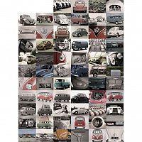 Up and Down Kreativní koláž Volkswagen, 64 dílů