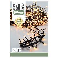 Vánoční světelný LED řetěz Cluster, 560 mini LED