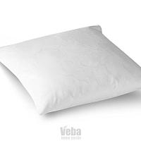 Veba Damaškový povlak na polštářek GEON Vlčí máky bílá, 40 x 40 cm