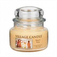Village Candle Vonná svíčka ve skle, Plážová párty - Beach Party, 269 g, 269 g