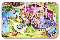 Vopi Dětský koberec Ultra Soft Zámek, 95 x 145 cm