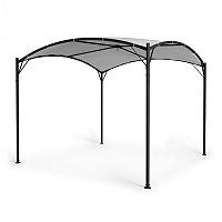 Blumfeldt Castello, pavilon, 3,5x3,5m, 250G, polyester, ocel, černá / šedá