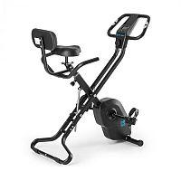 Capital Sports Azura X1, černý, X-bike, do 120 kg, měření pulsu, sklápěcí, 4 kg