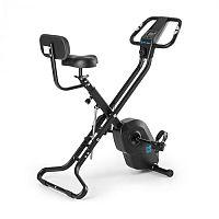 Capital Sports Azura X2 X-Bike, kolo, do 120 kg, měřič tepu, sklápěcí, 4 kg, černý