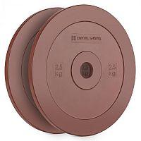 Capital Sports Methoder, červený, technický kotouč, kotoučové závaží, guma, pár, 2,5 kg