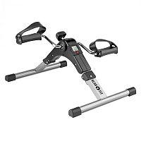 KLARFIT Continus Pro Mini Bike, pedálový přístroj na cvičení, displej, sklápěcí, černá barva