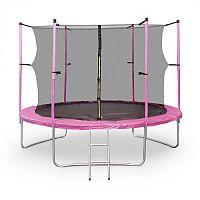 KLARFIT Rocketgirl XXL, 305 cm trampolína, růžová