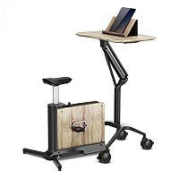 KLARFIT Roomik Move, tréninkový kolo, bříza, 8 kg setrvačník, 8 úrovní magnetového odporu