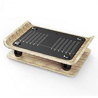 KLARFIT Roomik Shake, vibrační plošina, 15 - 55 Hz, certifikovaná bříza, dálkové ovládání