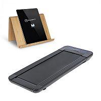 KLARFIT Workspace GoLight, běžecký pás a držák na tablet, 350 W, 0.8 - 6 km/h, čierny