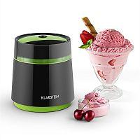 Klarstein Bacio Nero, 0,8 l, černo/zelený zmrzlinovač