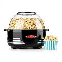 Klarstein Couchpotato, černý, popcornovač, elektrické zařízení na přípravu popcornu
