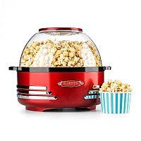 Klarstein Couchpotato, červený, popcornovač, elektrické zařízení na přípravu popcornu