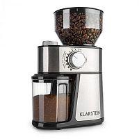 Klarstein Florenz, mlýnek na kávu, 200 W, ocelové mlecí kameny, ušlechtilá ocel