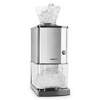OneConcept Icebreaker, drtič ledu s výkonem 15 kg/h, objemem 3,5 l, zásobníkem na led, nerezová ocel