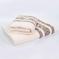 Bambusový ručník Tara - ecru 50x90 cm, 440 g/m2 Ručník