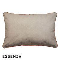 Dekorační polštář Essenza Duke hnědý 40x60 cm Hnědá