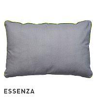 Dekorační polštář Essenza Duke šedý 40x60 cm Šedá