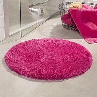 Koupelnová předložka Malmo růžová průměr 71 cm růžová