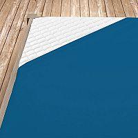 Napínací jersey prostěradlo tmavě modré 180x200 cm dvojlůžko - standard Jersey