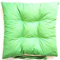 Podsedák zelený 40x40 cm zelená